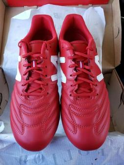 New Balance team 442 Red Soccer cleats Size 9 Leather