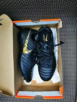 Nike Tiempo Legend 7 Academy FG Soccer Cleats Black Gold  Me