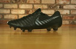 Nike Tiempo Legend 7 VII ELITE FG Black Soccer Cleats AH7238