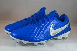 Nike Tiempo Legend 8 Elite FG Soccer Cleats Blue  Men's Size