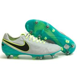 NIKE Tiempo Legend VI 6 SG-Pro ACC Soccer Cleats Gray Green