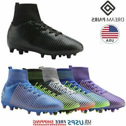 DREAM PAIRS Kids Girls Boys Mens Athletic Outdoor Soccer Cle
