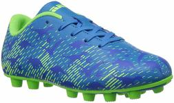 Vizari Unisex Dino Soccer Shoe, Blue/Green, 1.5 Regular US L