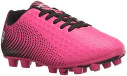Vizari Unisex-Kids Stealth FG Size Soccer-Shoes, Pink/Black,