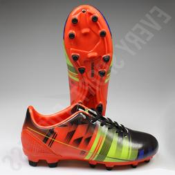 Vizari Venza FG Junior Soccer Cleats -  Black / Orange  List