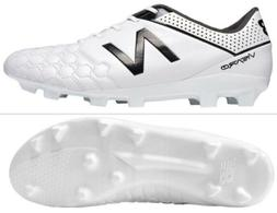 NEW BALANCE VISARO FG MENS LEATHER SOCCER CLEATS MSVCOFWH WH