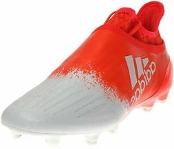 adidas Womens X 16+ Purechaos FG Soccer Cleats Orange/White,