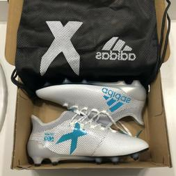 Adidas X 17.1 FG Men's 8.5 Firm Ground Soccer Cleats White