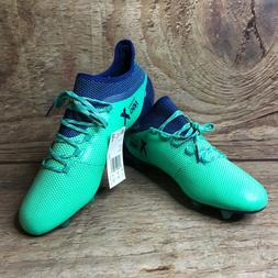 ADIDAS X 17.1 FG SOCCER CLEATS Mens 10 Deadly Strike Green N