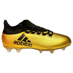 Adidas X 17.2 FG Men's Soccer Cleats Solar Yellow Black Size