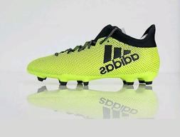 Adidas X 17.3 FG Boys/Girls Soccer Cleats tech fit new yello