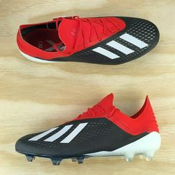 Adidas X 18.1 FG Red Core Black White Soccer Cleats  Multi S