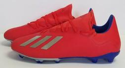Adidas X 18.3 FG BB9367 - mens US size 13 - red/blue - socce
