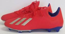 Adidas X 18.3 FG BB9367 - mens US size 13 - red - soccer cle