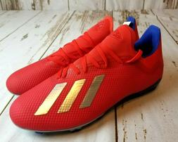ADIDAS X 18.3 FG MENS SOCCER CLEATS SHOES BB9367 NEW SIZE 9.