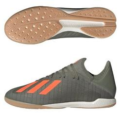ADIDAS X 19.3 IN MENS INDOOR SOCCER CLEATS SHOES CAMO GREEN