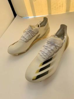 adidas X GHOSTED.1 Soccer Cleats White Black Gold  Limited E