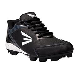 Easton Youth 360 Instinct Rubber Low Baseball Cleats - Black