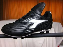 Youth Soccer Cleats Diadora Monza MD Black/White &  Medium